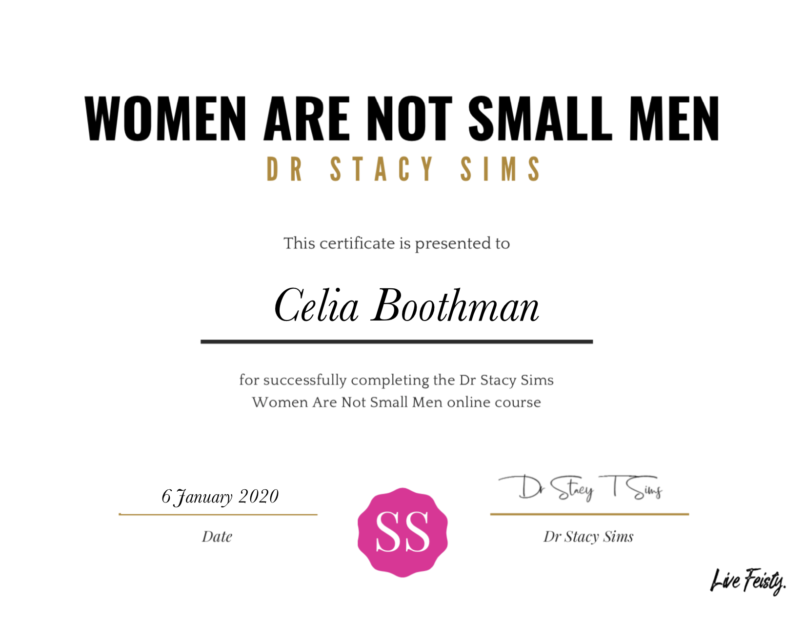 Women are not small men